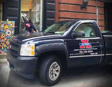 commercial window cleaner boston